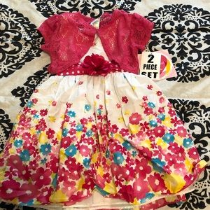 NWT Youngland flower dress